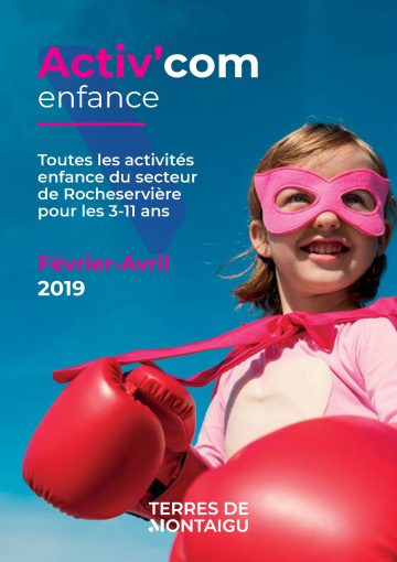 Image : couverture Activ'com enfance - Rocheservière - Vacances d'Hiver 2019